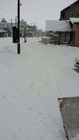 20140111駐車場の雪寄せ4