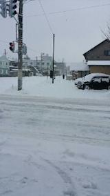 20140111駐車場の雪寄せ6