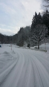 20140111山へ向かう途中の様子4