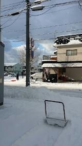 20140112お店横駐車場の雪寄せ2