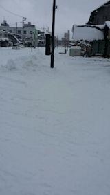 20140112駐車場の雪寄せ5