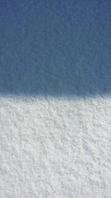20140213雪面とお日さまの関係1