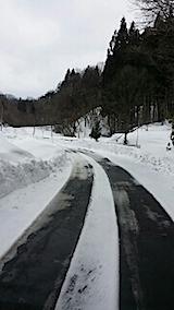 20140224山へ向かう途中の様子