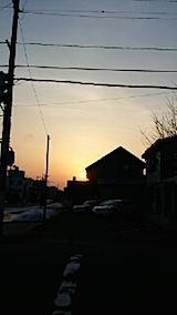 20140317外の様子夕方2