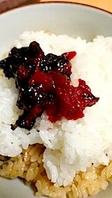 20140424梅干しご飯