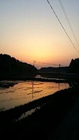 20140514夕焼け1