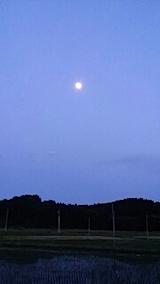 20140610東の空にお月さまが