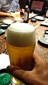 20140707生ビールで乾杯