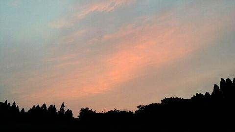 20140715西の空の様子