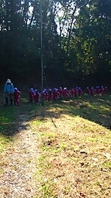 20141008幼稚園の栗拾い5