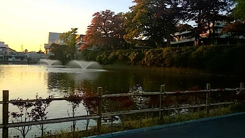20141009千秋公園の紅葉1