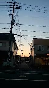 20141009夕焼け空