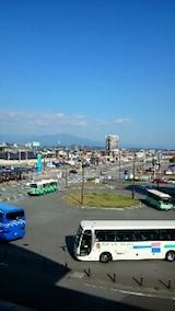 20141011秋田駅東口より太平山を望む
