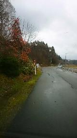 20141202山へ向かう途中の様子