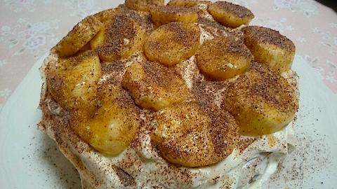 20141202手作りバナナケーキ