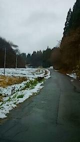 20141204山へ向かう途中の様子2
