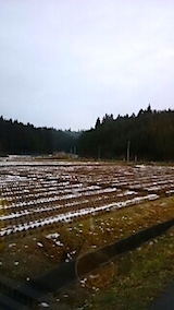 20141204山からの帰り道の様子