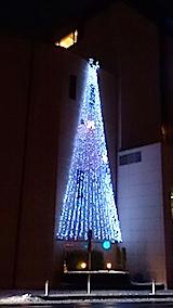 20141206ホテルのクリスマスツリー