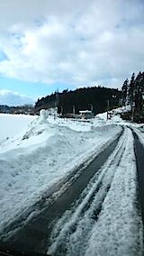 20150113山からの帰り道の様子1