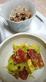 20150113マグロとアボガドのサラダ