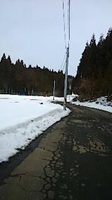 20150126山からの帰り道の様子