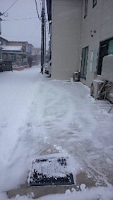 20150210雪寄せ後5