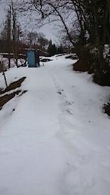 20150212ラベンダーの畑へと向かう急な坂道の様子1