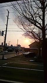 20150313外の様子夕方1