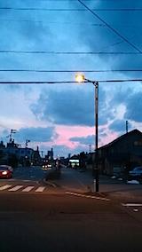 20150313外の様子夕方2