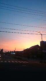 20150511外の様子夕方