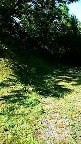 20150707ラベンダーの畑へと続く急な坂道の草刈り1