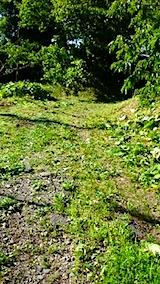 20150707ラベンダーの畑へと続く急な坂道の草刈り2