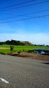 20150712山へ向かう途中の様子田んぼと山手台