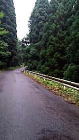 20150714山からの帰り道の様子峠道