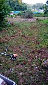 20150716野菜畑の草刈り後の様子2