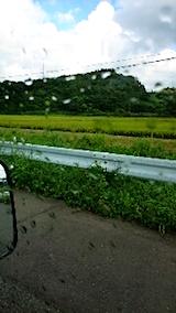 20150904山へ向かう途中の様子雨がやむ