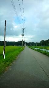 20150904山へ向かう途中の様子田んぼ