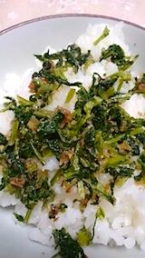 20150905ダイコン葉のご飯