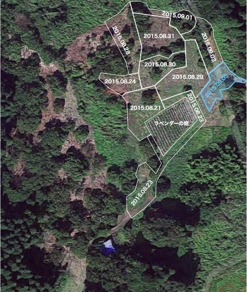 20150905栗畑草刈りマップ