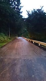 20150911山からの帰り道の様子峠道