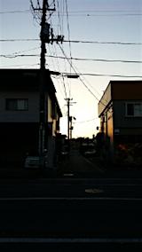20151007外の様子夕焼け