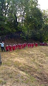 20151008幼稚園の栗拾い8