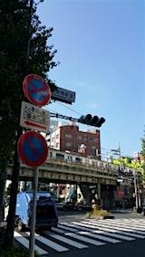 20151012外の様子浅草橋の朝
