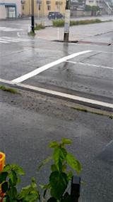 20151024外の様子昼過ぎ大雨2