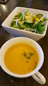 20151031ランチスープと野菜