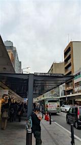 20151101京都四条河原町バス停