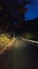 20151107山からの帰り道の様子峠道