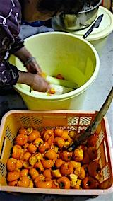 20151123ダイコンの柿漬け1
