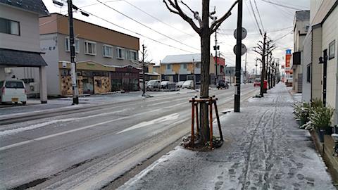 20151204外の様子積雪の朝