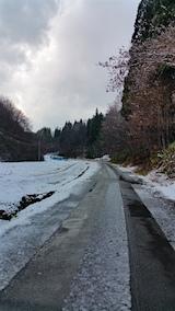 20151204山へ向かう途中の様子峠道1